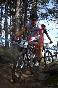 Andrea Waldis at UCI World Cup XCO / XCE / DHI 4 - Vallnord (2013)