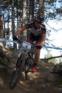 Anne Terpstra at UCI World Cup XCO / XCE / DHI 4 - Vallnord (2013)