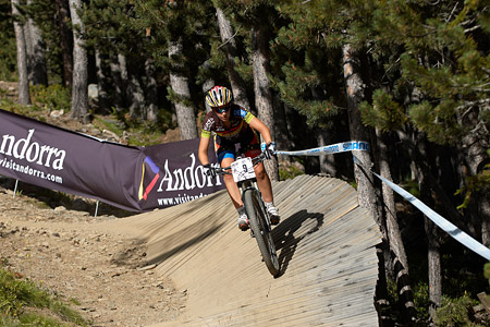 Aurea Ruiz Garcia at UCI World Cup XCO / XCE / DHI 4 - Vallnord (2013)