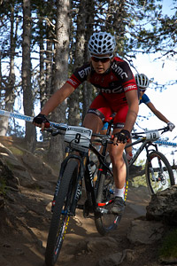 Candice Neethling at UCI World Cup XCO / XCE / DHI 4 - Vallnord (2013)