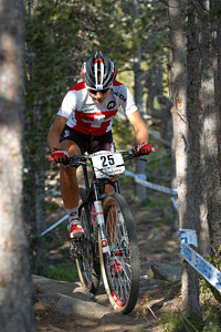 Deborah Inauen at UCI World Cup XCO / XCE / DHI 4 - Vallnord (2013)