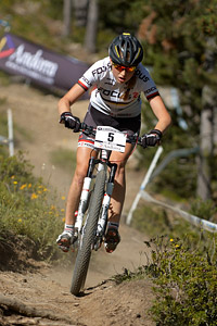 Helen Grobert at UCI World Cup XCO / XCE / DHI 4 - Vallnord (2013)
