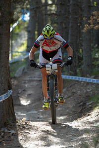 Linda Indergand at UCI World Cup XCO / XCE / DHI 4 - Vallnord (2013)