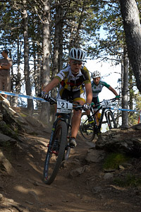 Maria Diaz at UCI World Cup XCO / XCE / DHI 4 - Vallnord (2013)