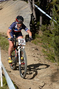 Marine Eon at UCI World Cup XCO / XCE / DHI 4 - Vallnord (2013)
