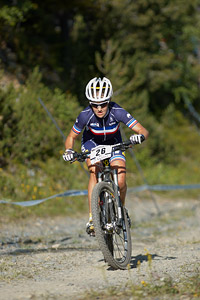 Marine Strappazzon at UCI World Cup XCO / XCE / DHI 4 - Vallnord (2013)
