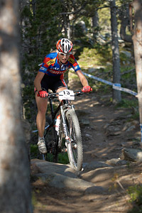 Michelle Hediger at UCI World Cup XCO / XCE / DHI 4 - Vallnord (2013)