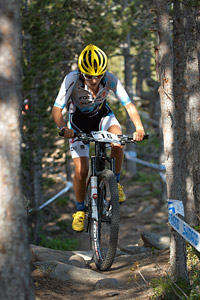 Perrine Clauzel at UCI World Cup XCO / XCE / DHI 4 - Vallnord (2013)