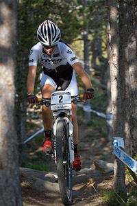 Rebecca McConnell at UCI World Cup XCO / XCE / DHI 4 - Vallnord (2013)