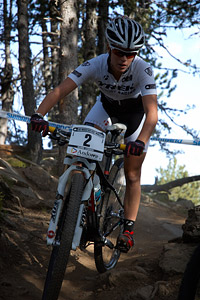 Rebecca Henderson at UCI World Cup XCO / XCE / DHI 4 - Vallnord (2013)
