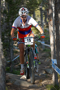 Vendula Kuntova at UCI World Cup XCO / XCE / DHI 4 - Vallnord (2013)
