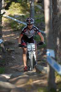 Yana Belomoyna at UCI World Cup XCO / XCE / DHI 4 - Vallnord (2013)