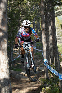 Zuzana Pirzkallova at UCI World Cup XCO / XCE / DHI 4 - Vallnord (2013)