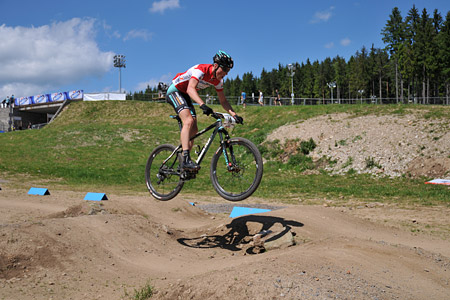 Alexander Gehbauer at UCI World Cup XCO / XCE 3 Nove Mesto na Morave (2014)