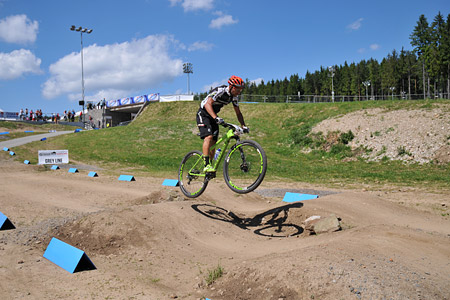 Manuel Fumic at UCI World Cup XCO / XCE 3 Nove Mesto na Morave (2014)
