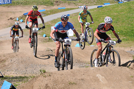 Raphael Gagne at UCI World Cup XCO / XCE 3 Nove Mesto na Morave (2014)