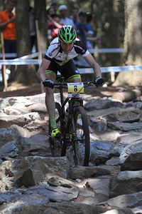Thomas Litscher at UCI World Cup XCO / XCE 3 Nove Mesto na Morave (2014)