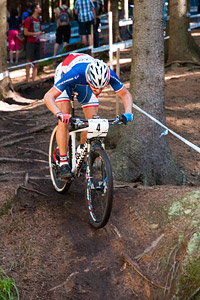 Julien Trarieux at UCI World Cup XCO / XCE 3 Nove Mesto na Morave (2014)