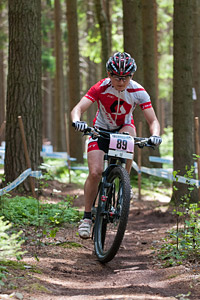 Florence Darbellay at UCI World Cup XCO / XCE 3 Nove Mesto na Morave (2014)