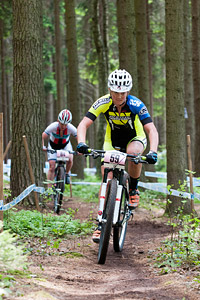 Hielke Elferink at UCI World Cup XCO / XCE 3 Nove Mesto na Morave (2014)