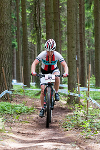 Maxine Filby at UCI World Cup XCO / XCE 3 Nove Mesto na Morave (2014)