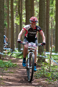 Tracy Moseley at UCI World Cup XCO / XCE 3 Nove Mesto na Morave (2014)