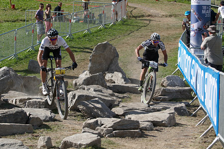 Manuel Fumic at UCI World Cup XCO / XCE / DHI 7 - Méribel (2014)