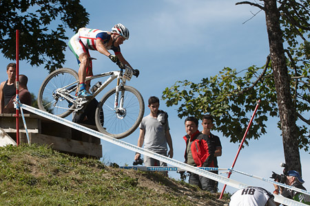 Andras Parti at UCI World Cup XCO / XCE / DHI 7 - Méribel (2014)