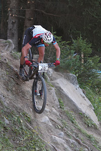 Catriel Andres Soto at UCI World Cup XCO / XCE / DHI 7 - Méribel (2014)