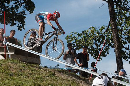 Christian Helmig at UCI World Cup XCO / XCE / DHI 7 - Méribel (2014)