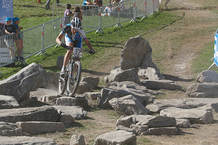 Daniel Eymann at UCI World Cup XCO / XCE / DHI 7 - Méribel (2014)