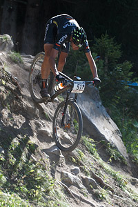 David Valero at UCI World Cup XCO / XCE / DHI 7 - Méribel (2014)