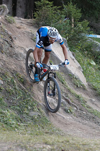 Fabian Giger at UCI World Cup XCO / XCE / DHI 7 - Méribel (2014)