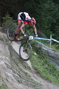 Frank Beemer at UCI World Cup XCO / XCE / DHI 7 - Méribel (2014)
