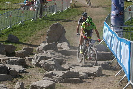 Giuseppe Lamastra at UCI World Cup XCO / XCE / DHI 7 - Méribel (2014)