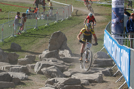Hans Becking at UCI World Cup XCO / XCE / DHI 7 - Méribel (2014)