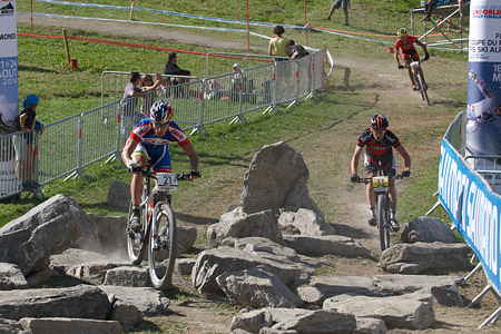 Henrique Avancini at UCI World Cup XCO / XCE / DHI 7 - Méribel (2014)