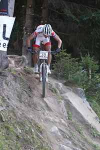 Hugo Drechou at UCI World Cup XCO / XCE / DHI 7 - Méribel (2014)