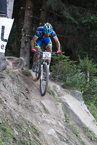 Ismael Ventura Sanchez at UCI World Cup XCO / XCE / DHI 7 - Méribel (2014)