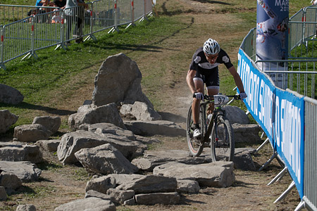 Jason Bouttell at UCI World Cup XCO / XCE / DHI 7 - Méribel (2014)