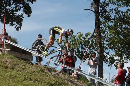 José Antonio Hermida Ramos at UCI World Cup XCO / XCE / DHI 7 - Méribel (2014)