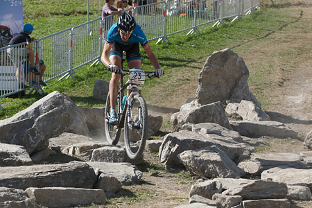 Kevin Van Hoovels at UCI World Cup XCO / XCE / DHI 7 - Méribel (2014)