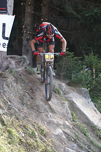 Lukas Flückiger at UCI World Cup XCO / XCE / DHI 7 - Méribel (2014)