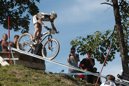 Marcel Wildhaber at UCI World Cup XCO / XCE / DHI 7 - Méribel (2014)