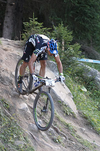 Marco Aurelio Fontana at UCI World Cup XCO / XCE / DHI 7 - Méribel (2014)