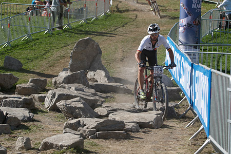 Marco Schätzing at UCI World Cup XCO / XCE / DHI 7 - Méribel (2014)
