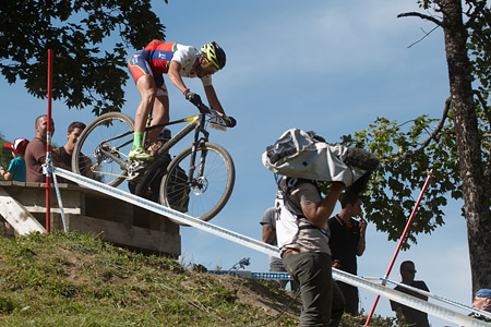 Mario Luis Miranda Costa at UCI World Cup XCO / XCE / DHI 7 - Méribel (2014)