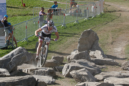 Markus Schulte-Luenzum at UCI World Cup XCO / XCE / DHI 7 - Méribel (2014)