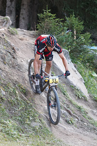 Martin Fanger at UCI World Cup XCO / XCE / DHI 7 - Méribel (2014)