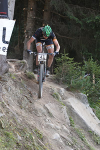 Martin Gujan at UCI World Cup XCO / XCE / DHI 7 - Méribel (2014)